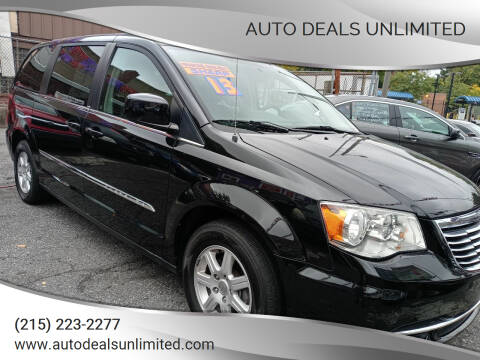 2013 Chrysler Town and Country for sale at AUTO DEALS UNLIMITED in Philadelphia PA