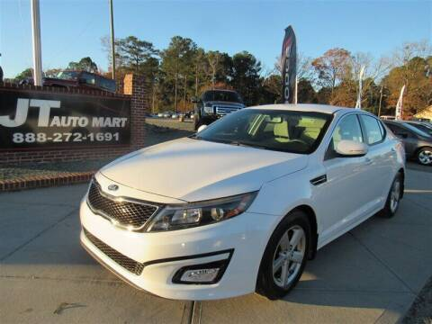 2014 Kia Optima for sale at J T Auto Group in Sanford NC