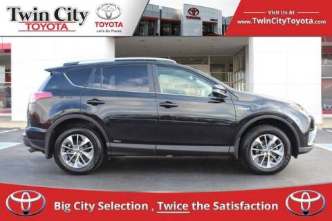 2018 Toyota RAV4 Hybrid for sale at Twin City Toyota in Herculaneum MO