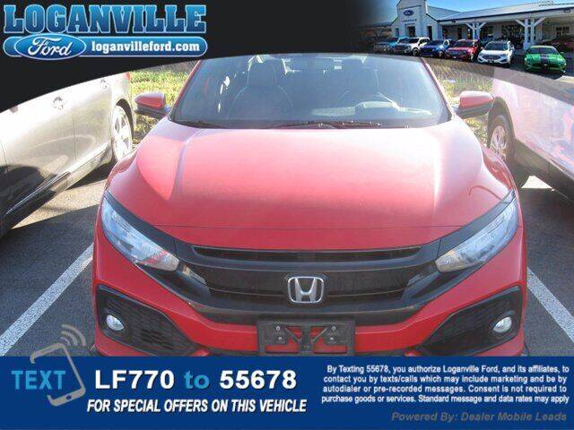 2018 Honda Civic for sale at Loganville Quick Lane and Tire Center in Loganville GA