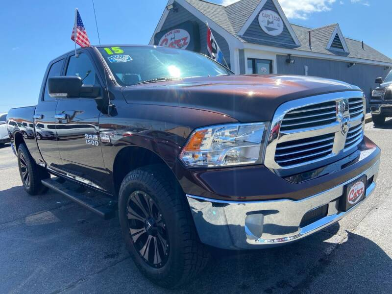 2015 RAM Ram Pickup 1500 for sale at Cape Cod Carz in Hyannis MA