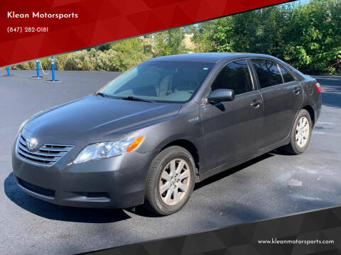 2007 Toyota Camry Hybrid for sale at Klean Motorsports in Skokie IL