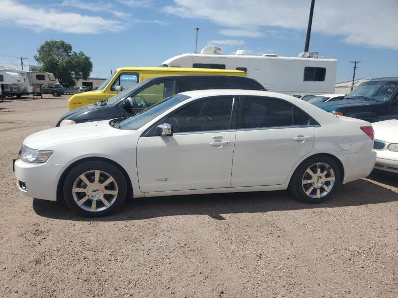 2008 Lincoln MKZ for sale at PYRAMID MOTORS - Fountain Lot in Fountain CO