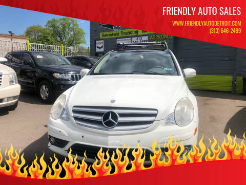 2008 Mercedes-Benz R-Class for sale at Friendly Auto Sales in Detroit MI