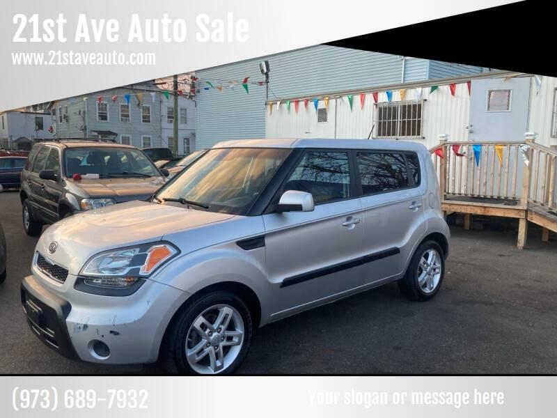 2011 Kia Soul for sale at 21st Ave Auto Sale in Paterson NJ