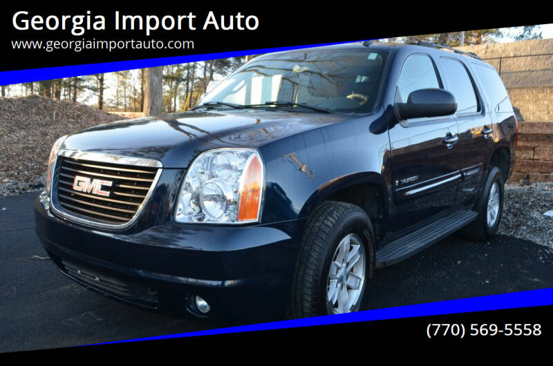 2007 GMC Yukon for sale at Georgia Import Auto in Alpharetta GA