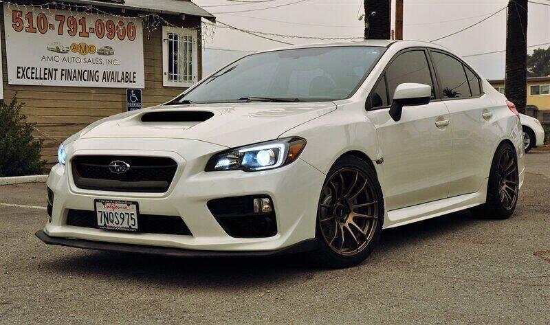 2016 Subaru WRX for sale at AMC Auto Sales, Inc. in Fremont CA