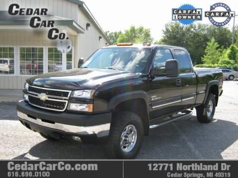 2006 Chevrolet Silverado 2500HD for sale at Cedar Car Co in Cedar Springs MI
