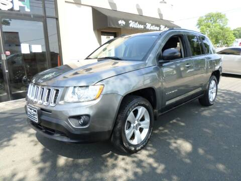 2011 Jeep Compass for sale at Wilson-Maturo Motors in New Haven Ct CT
