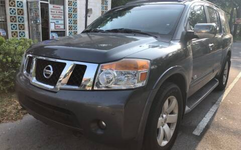 2008 Nissan Armada for sale at County Line Car Sales Inc. in Delco NC