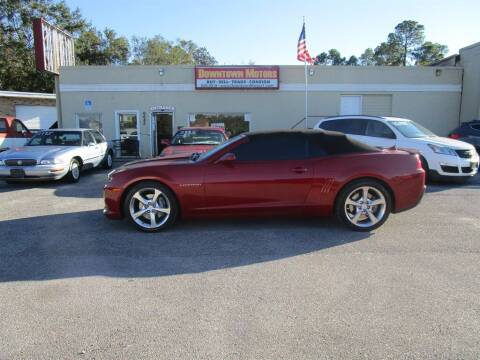 2015 Chevrolet Camaro for sale at DERIK HARE in Milton FL