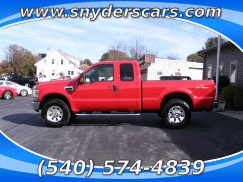 2008 Ford F-250 Super Duty for sale at Snyders Auto Sales in Harrisonburg VA