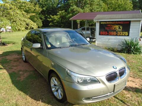 2009 BMW 5 Series for sale at Hot Deals Auto LLC in Rock Hill SC