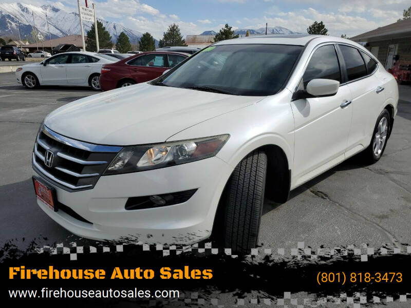 2010 Honda Accord Crosstour for sale at Firehouse Auto Sales in Springville UT