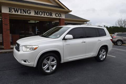 2008 Toyota Highlander for sale at Ewing Motor Company in Buford GA