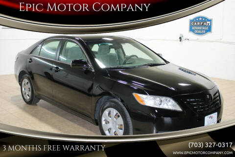 2009 Toyota Camry for sale at Epic Motor Company in Chantilly VA