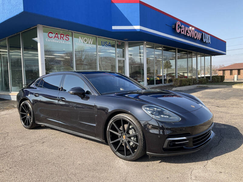 2018 Porsche Panamera for sale at A 1 Motors in Monroe MI