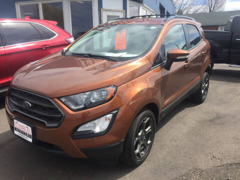 2018 Ford EcoSport for sale at Flambeau Auto Expo in Ladysmith WI