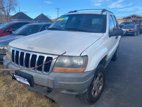 1999 Jeep Grand Cherokee for sale at Creekside Auto Sales in Pocatello ID