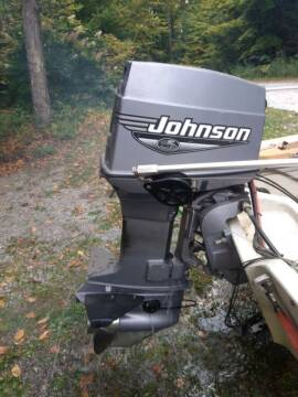 2000 Johnson 70hp    J70PLSSD for sale at Champlain Valley MotorSports in Cornwall VT