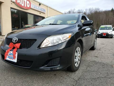 2010 Toyota Corolla for sale at Auto Wholesalers Of Hooksett in Hooksett NH