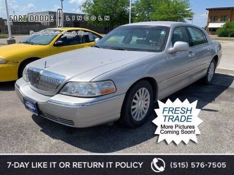 2003 Lincoln Town Car for sale at Fort Dodge Ford Lincoln Toyota in Fort Dodge IA
