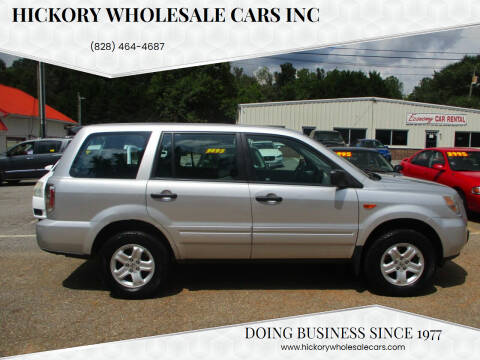 2006 Honda Pilot for sale at Hickory Wholesale Cars Inc in Newton NC