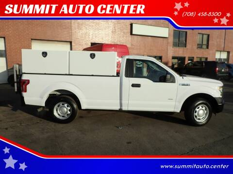 2015 Ford F-150 for sale at SUMMIT AUTO CENTER in Summit IL