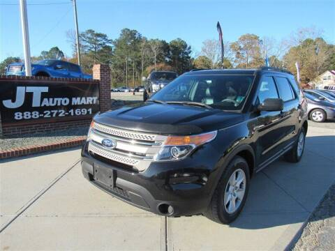 2014 Ford Explorer for sale at J T Auto Group in Sanford NC