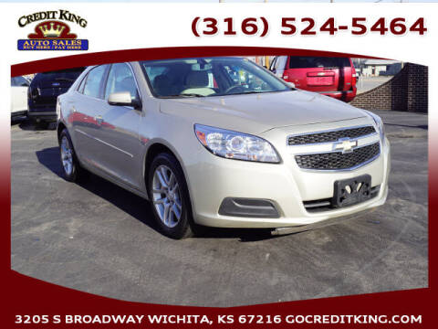 2013 Chevrolet Malibu for sale at Credit King Auto Sales in Wichita KS