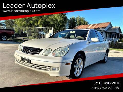 2003 Lexus GS 300 for sale at Leader Autoplex in San Antonio TX