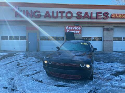 2016 Dodge Challenger for sale at KING AUTO SALES  II in Detroit MI