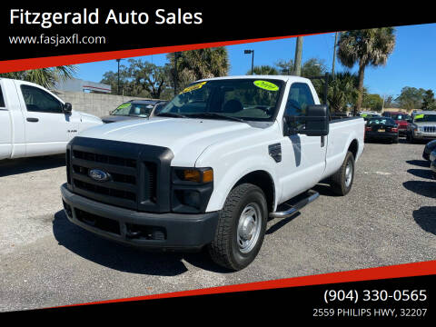 2010 Ford F-250 Super Duty for sale at Fitzgerald Auto Sales in Jacksonville FL