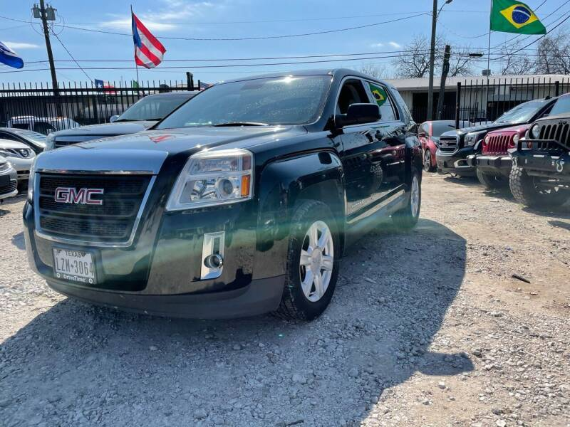 2015 GMC Terrain for sale at ALL STAR MOTORS INC in Houston TX