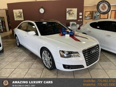 2012 Audi A8 L for sale at Amazing Luxury Cars in Snellville GA