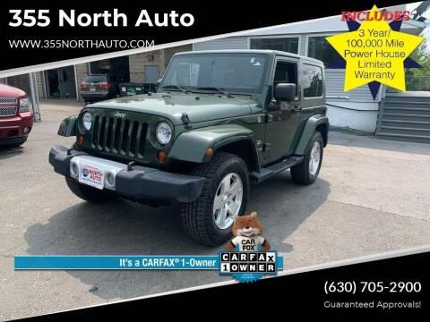 2008 Jeep Wrangler for sale at 355 North Auto in Lombard IL