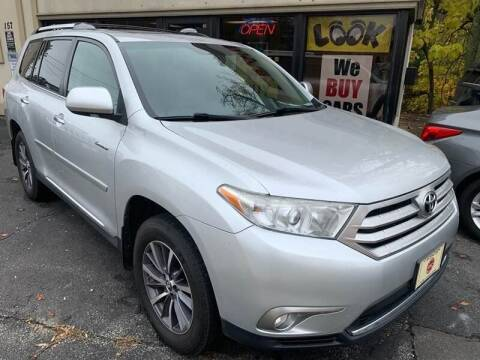 2012 Toyota Highlander for sale at BORGES AUTO CENTER, INC. in Taunton MA