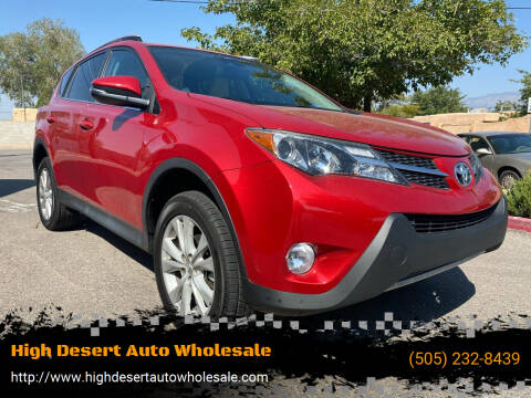 2015 Toyota RAV4 for sale at High Desert Auto Wholesale in Albuquerque NM