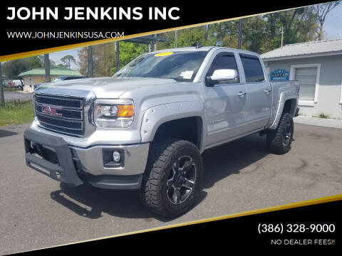 2015 GMC Sierra 1500 for sale at JOHN JENKINS INC in Palatka FL