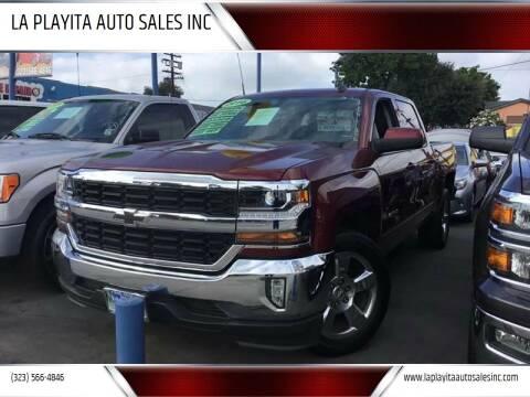 2016 Chevrolet Silverado 1500 for sale at LA PLAYITA AUTO SALES INC in South Gate CA