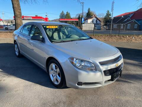 2012 Chevrolet Malibu for sale at Midtown Autoworld LLC in Herkimer NY