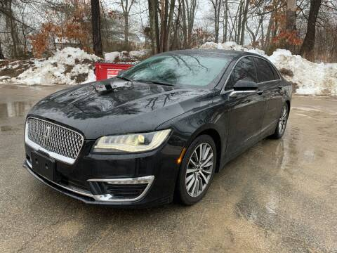 2017 Lincoln MKZ Hybrid for sale at Velocity Motors in Newton MA