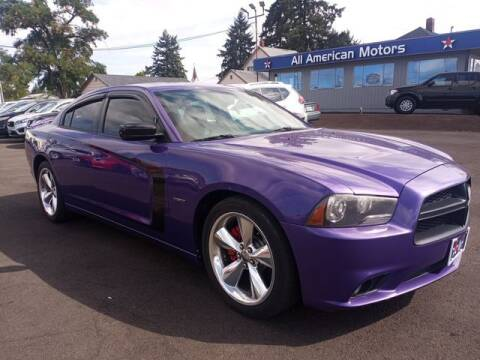 2014 Dodge Charger for sale at All American Motors in Tacoma WA