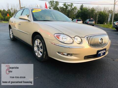 2008 Buick LaCrosse for sale at Transportation Center Of Western New York in Niagara Falls NY