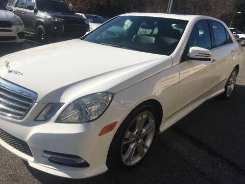 2013 Mercedes-Benz E-Class for sale at Highlands Luxury Cars, Inc. in Marietta GA