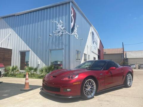 2010 Chevrolet Corvette for sale at Barrett Auto Gallery in San Juan TX