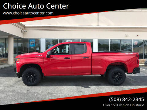 2019 Chevrolet Silverado 1500 for sale at Choice Auto Center in Shrewsbury MA