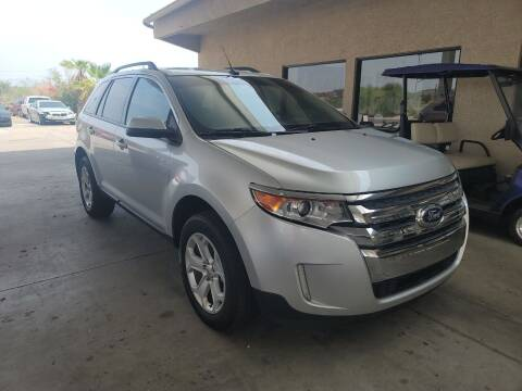 2014 Ford Edge for sale at Carzz Motor Sports in Fountain Hills AZ