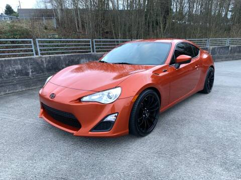 2013 Scion FR-S for sale at Zipstar Auto Sales in Lynnwood WA