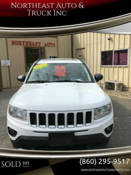 2011 Jeep Compass for sale at Northeast Auto & Truck Inc in Marlborough CT